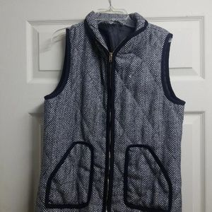 Boutique Herringbone Vest